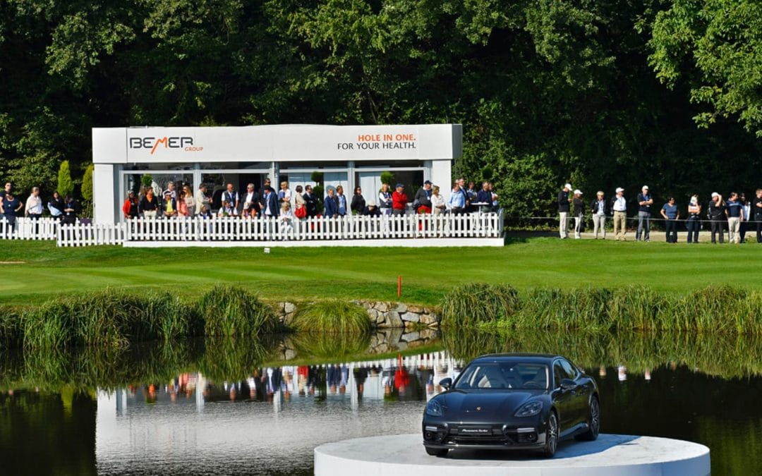 Tour Sponsor Bemer Group auf den Porsche European Open 2018